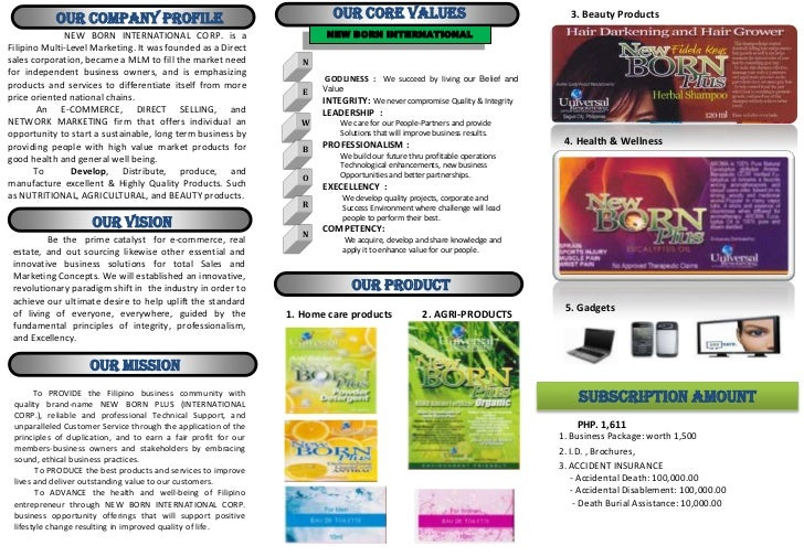 OUR Company Profile                                           OUR CORE VALUES                                      3. Beau...