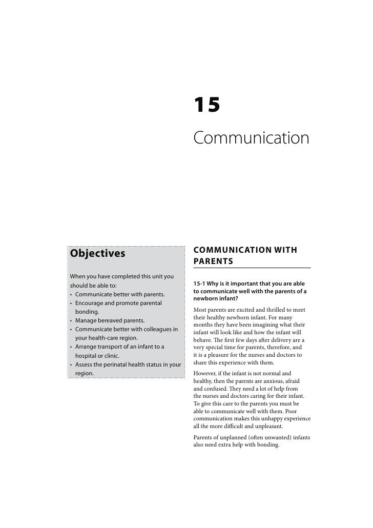15                                               Communication                                               COMMUNICATION...
