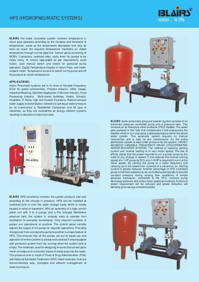 Dealer And Distributor Of Booster High Pressure Pump