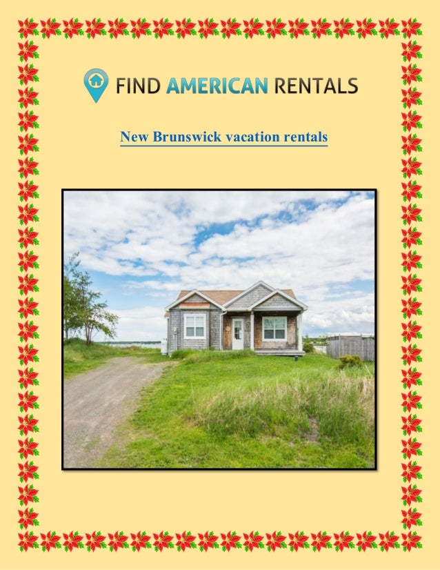 New Brunswick vacation rentals