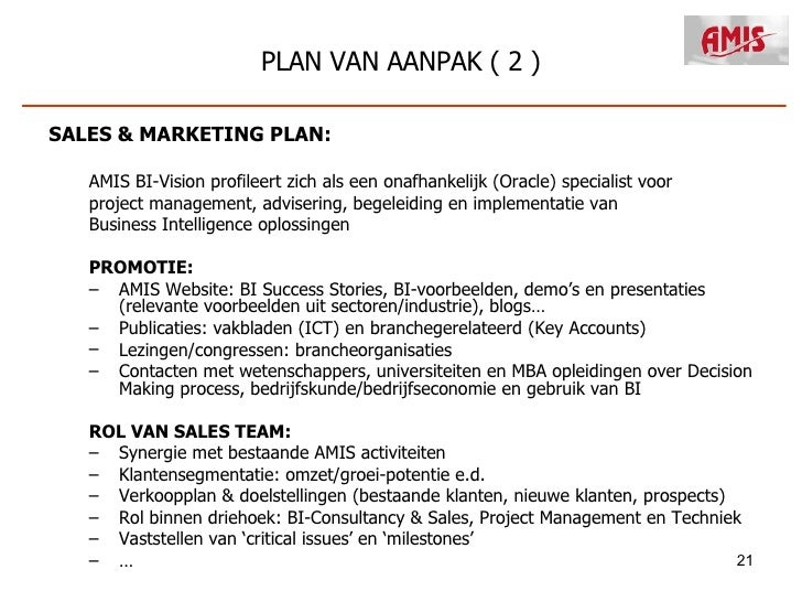 plan van aanpak marketingplan New Bu Plan Presentatie 2008 plan van aanpak marketingplan