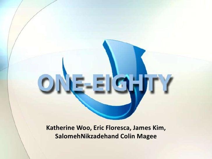 Katherine Woo, Eric Floresca, James Kim, SalomehNikzadehand Colin Magee<br />