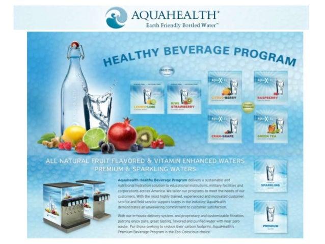 AquaHealth'sHealthy Beverage Program Benefits             2