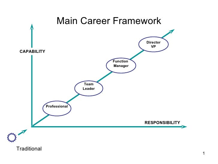 Main Career Framework Team Leader Function  Manager Director VP RESPONSIBILITY Professional CAPABILITY Traditional