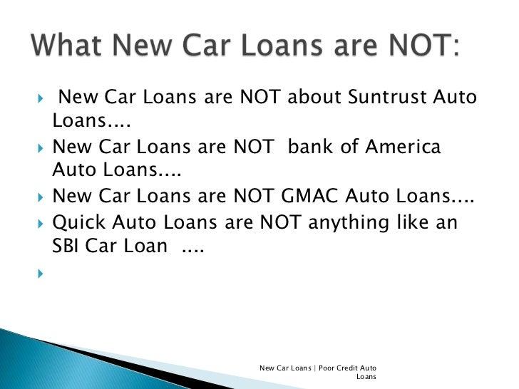 Gmac New Car Loans