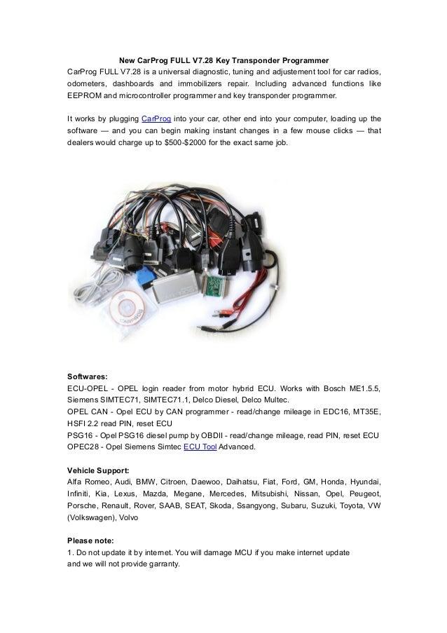 New car prog full v7 28 key transponder programmer