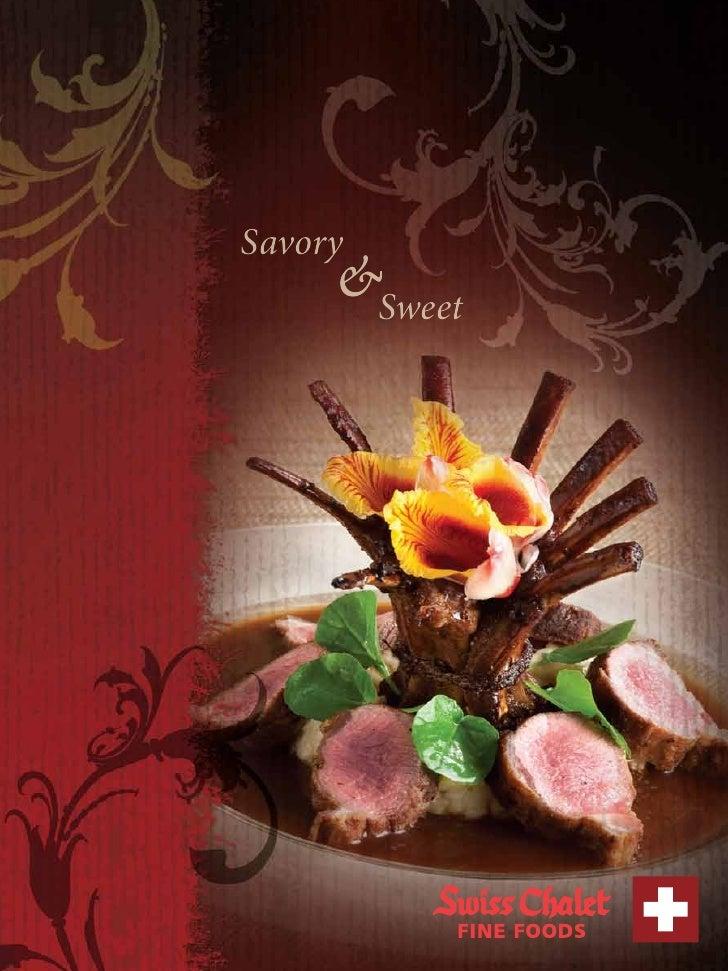 Savory      &Sweet