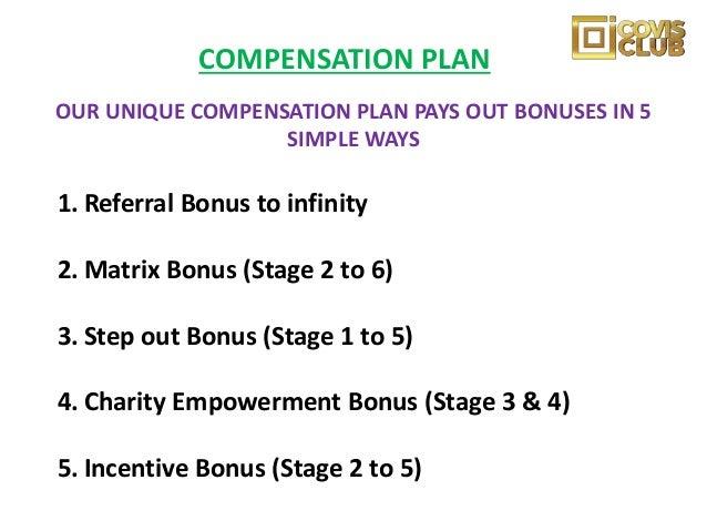 Level 1 = $5 Level 2 = $10 + ($10 Charity Bonus Fund) Level 3 = $20 + ($25 Worth of Food Stuff) Total Commission on Stage ...