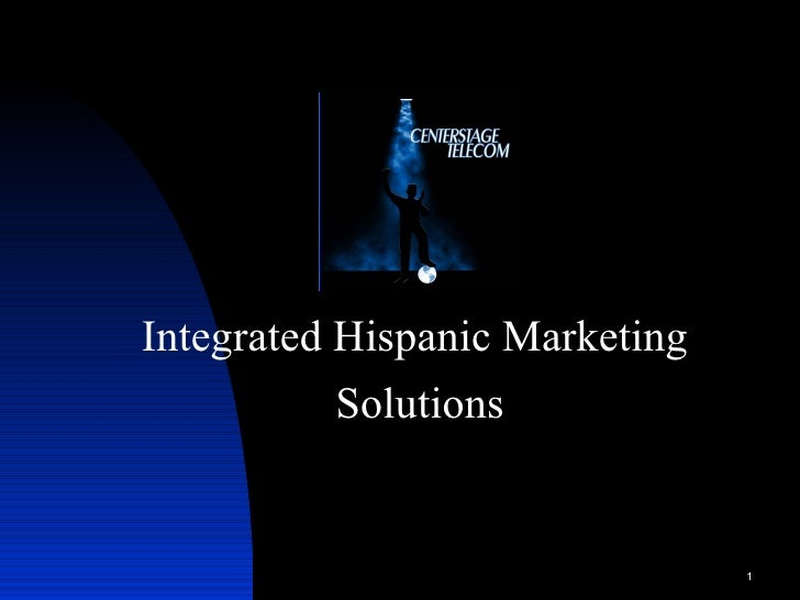 Integrated Hispanic Marketing  Solutions