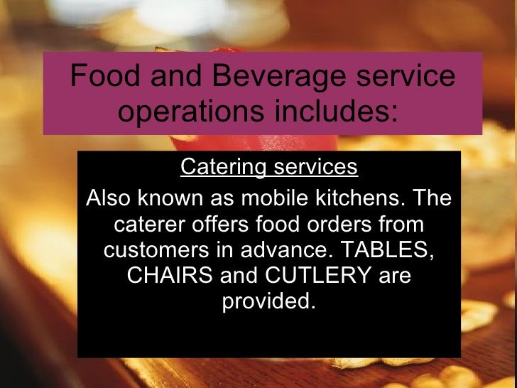 New Chapter 3 The Hospitality Industry Beverages