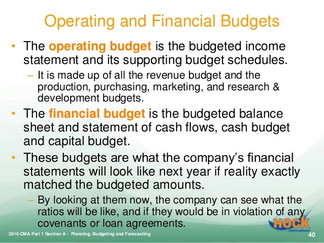 relationship between an objectives budget and operational budgets Effects of revenue collection on the relationship between deficit budget governments however oftenly face budget deficits and rarely achieve balanced budgets in the budget evaluate the effects of land rates revenue on the relationship between deficit budget financing and operational.