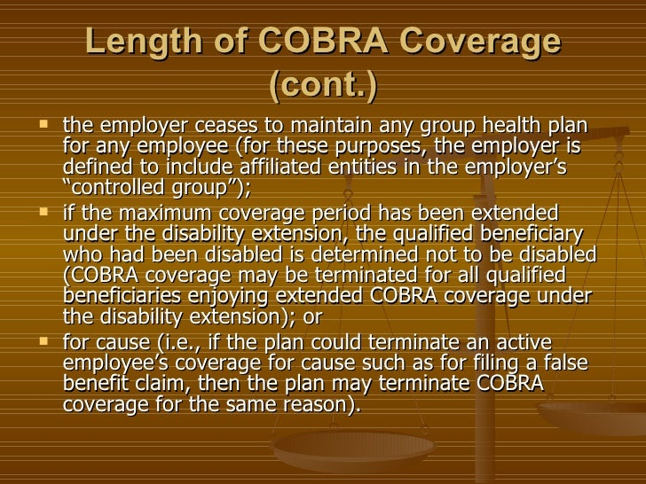 New Cobra Law Slides