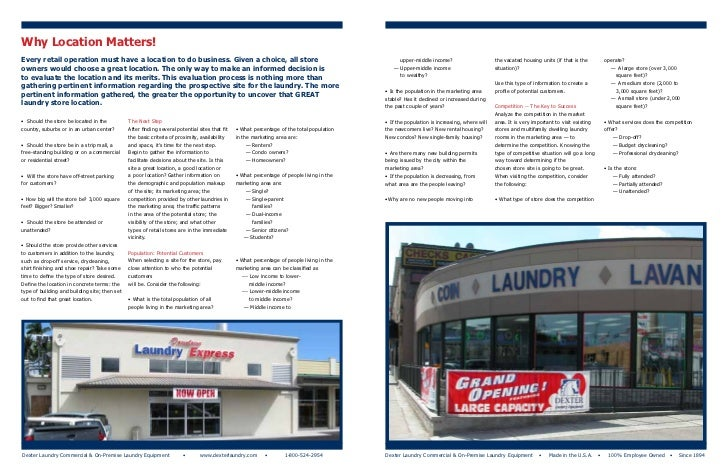 Laundry Shop Business Plan In Malaysia