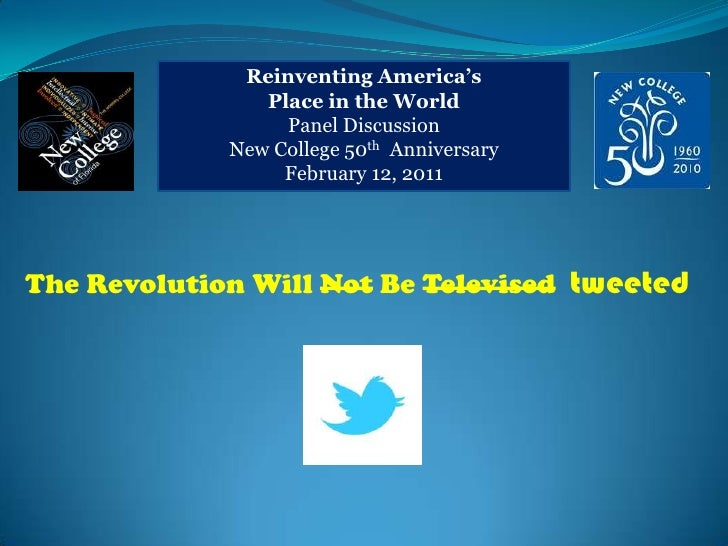 Reinventing America's <br />Place in the World<br />Panel Discussion<br />New College 50th  Anniversary<br />February 12, ...
