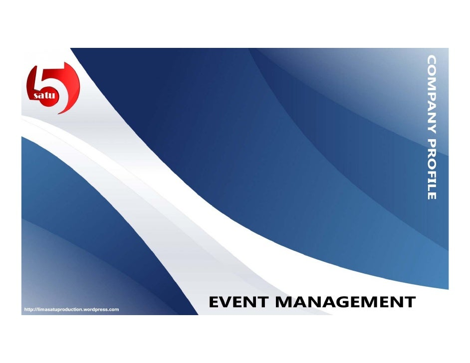Event Management Company Profile