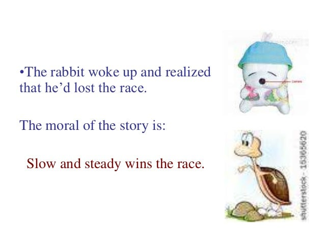 short story of turtle and rabbit