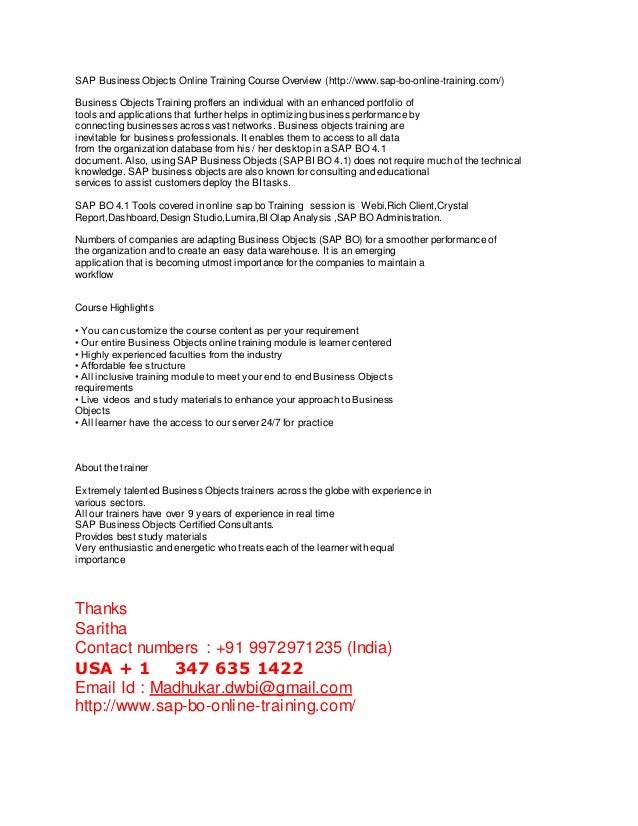 Search SAP training courses - Michael Management