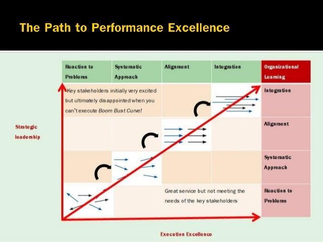 Lead the organization Manage the organization Improve the organization Strategic Leadership Execution Excellence Organizat...