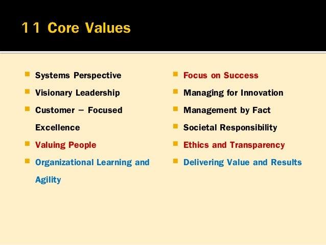 การนาองค์กรอย่างมีวิสัยทัศน์ ของผู้นาระดับสูง มี 4 ประเด็นคือ 1.กาหนดทิศทางขององค์กรและสร้างการมุ่งเน้นลูกค้า การมี ค่านิย...