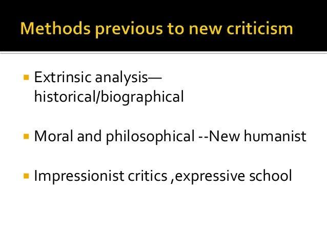 new criticism New criticism buzzwords back next big concepts from big minds close reading the close reading is the new critics' calling card if the new critics were a merry.