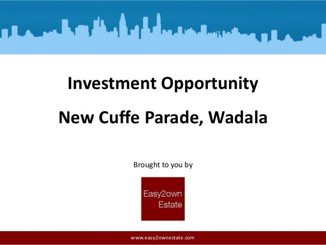 Investment Opportunity New Cuffe Parade, Wadala Brought to you by  www.easy2ownestate.com
