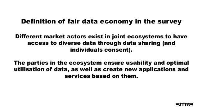 New Data Economy r´Rainmakers: Where's My Money?