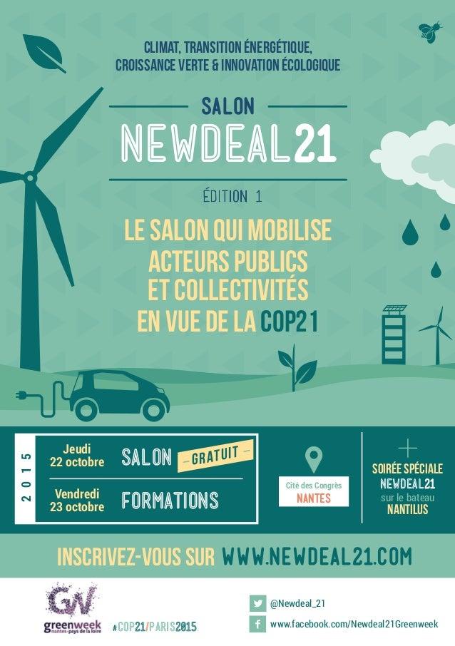 climat, transition énergétique, croissance verte & innovation écologique le salon qui mobilise acteurs publics et collecti...