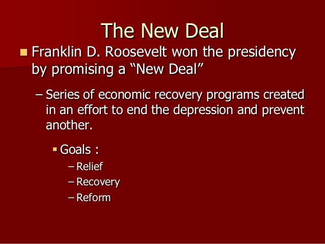 the outside influences of franklin roosevelts new deal program On august 14, 1935, franklin d roosevelt signed the social security act into law to remember fdr, who profoundly changed america with his new deal programs, we're taking a look at some .