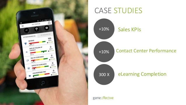 CASE STUDIES eLearning Completion +10% +10% 300 X Sales KPIs Contact Center Performance