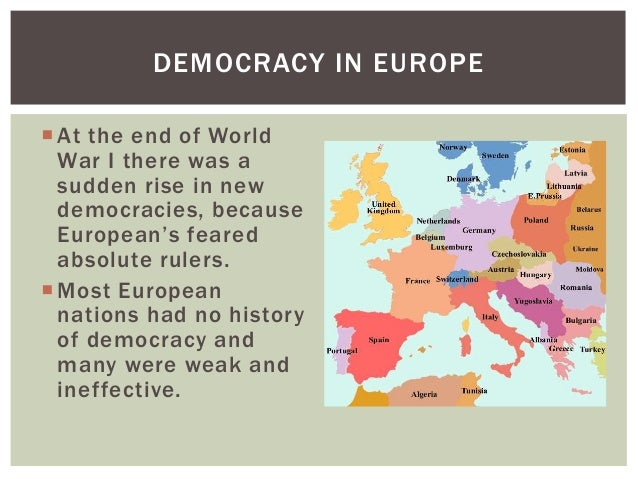 democratic governments and new democracies The collapse of authoritarian and totalitarian governments of both the right and the left has democracy abroad • the crisis the new democracies.
