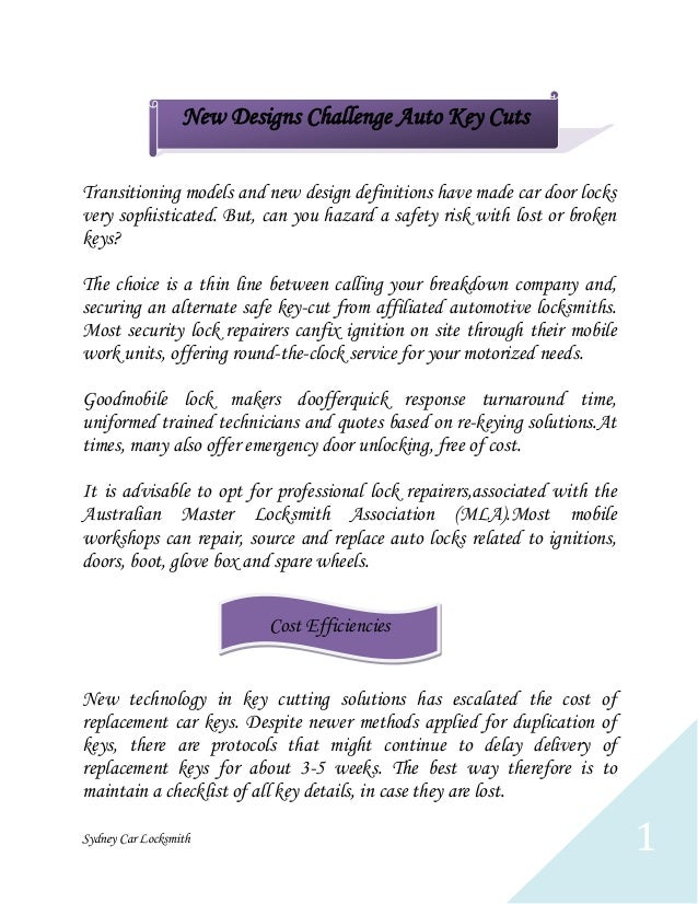 New Designs Challenge Auto Key Cuts