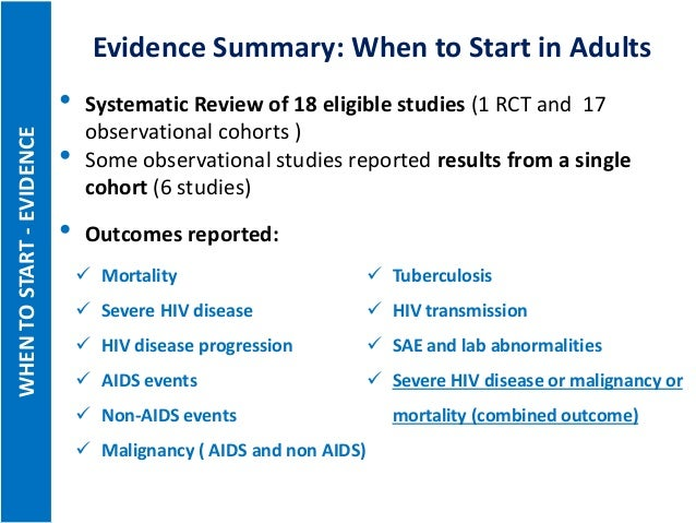 new directions in the 2015 who consolidated arv guidelines