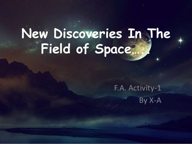 New discoveries in the field of space ms pp 2010 version