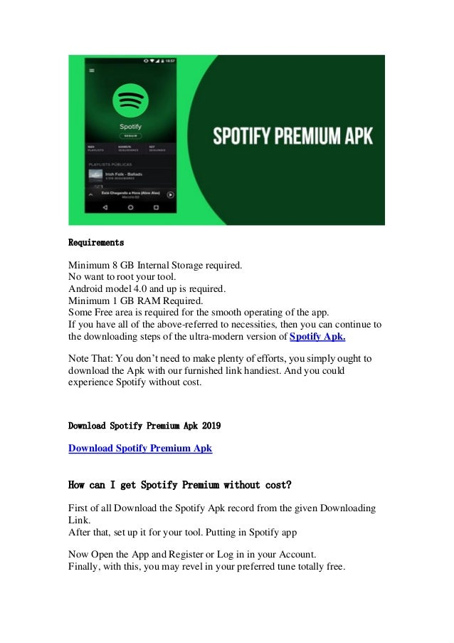 Spotify Premium Free APK