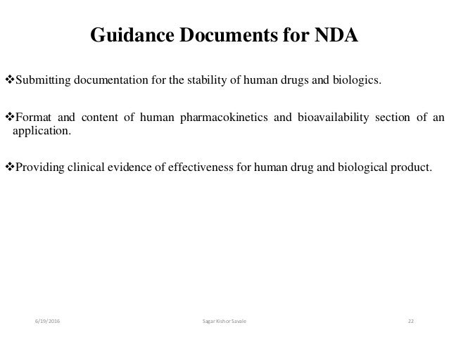 New Drug Application [NDA]