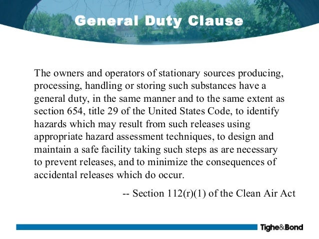 Section 112 Of The Clean Air Act Newea 2014 Strengthening
