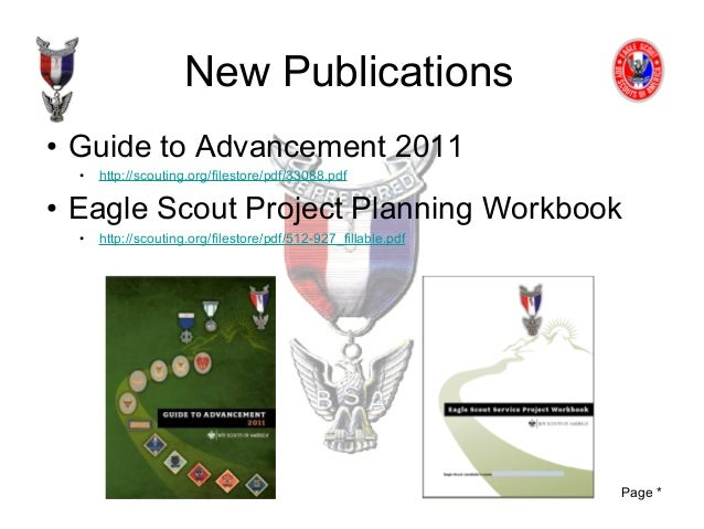 Eagle scout workbook word format