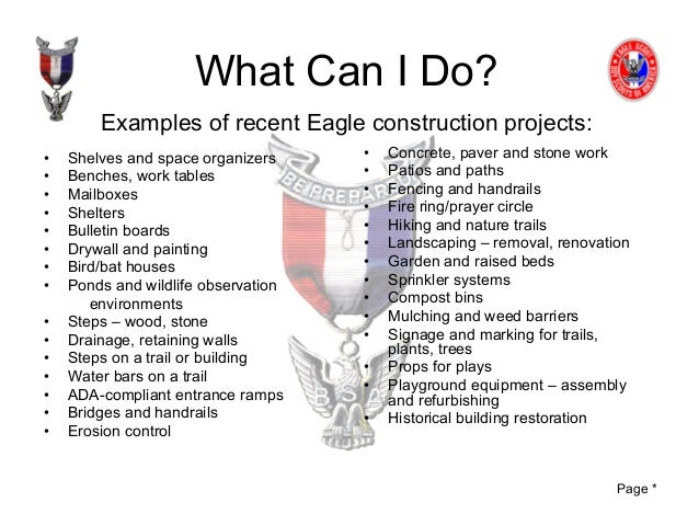 Eagle Scout Workbook Pdf 28 Images Eagle Scout Service Project