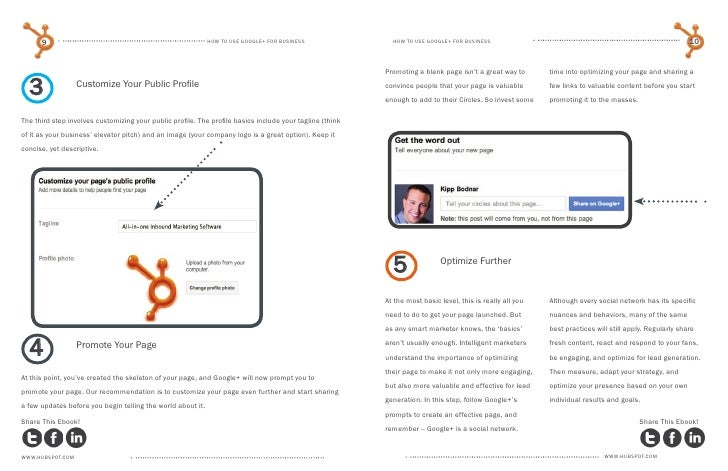how to create a user friendly google plus business url