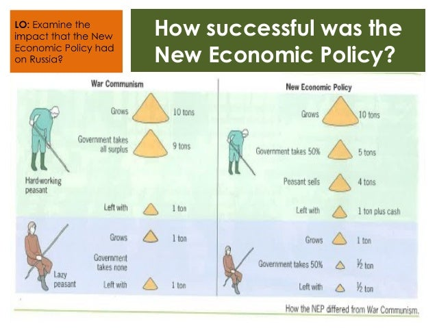 The new economic policy