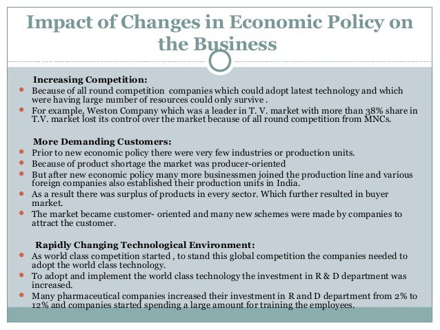 impact of the new economic policy Marijuana economic impact model this new model can help voters, policymakers, and regulators understand how marijuana legalization impacts the state economy in terms of output, tax revenues, gdp, and employment i-1 industry structure  marijuana policy group.