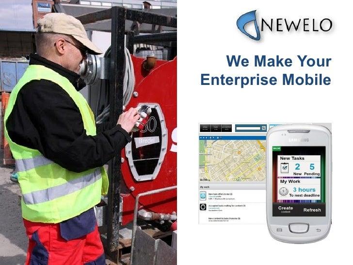 We Make YourEnterprise Mobile