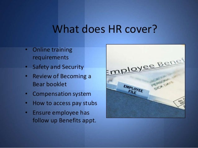 New employee orientation For a Company - Human Resource Ppt