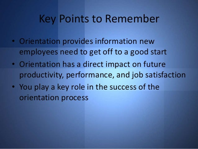 09 ppt new hire orientation final Sales onboarding best practices new employee orientation • http //wwwtdorg/publications/magazines/td/td-archive/2012/09/new-hire-onboarding.