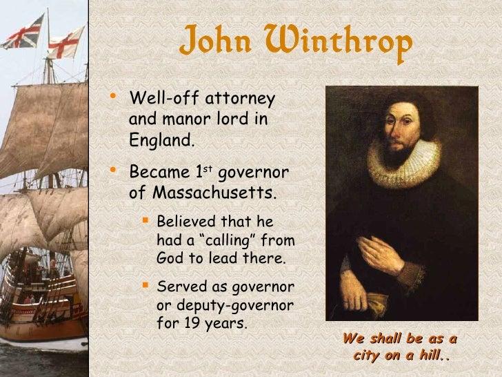 God and john winthrop