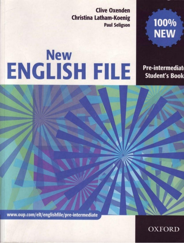 New English File Pre Intermediate Student S Book