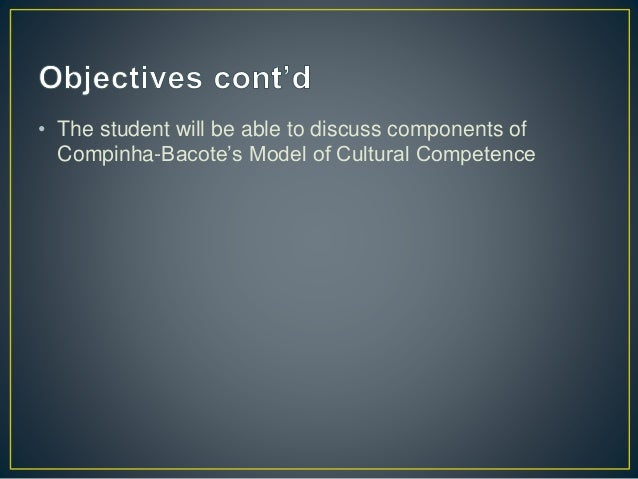 cultural competence in nursing Culturally competent nursing care: a cornerstone of caring is a free e-learning program from the hhs office of minority health it is accredited for up to 9 continuing education credits, at no cost, for nurses.