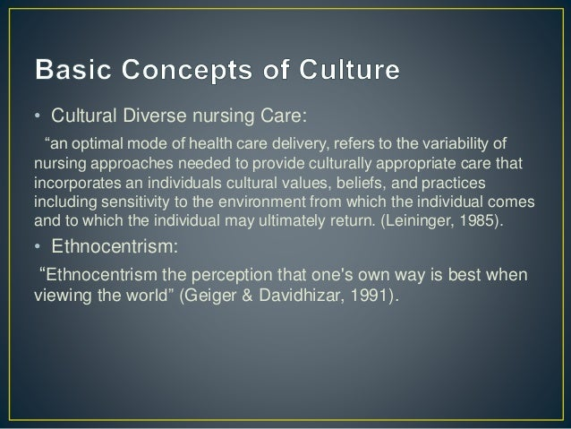 define culturally competent care appropriate for your own workplace based What is cultural competence culturally competent care providers provide the best possible care for their clients and work in the most productive way with all their.