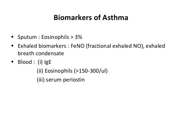 Newer Drugs And Therapeutics For Asthma