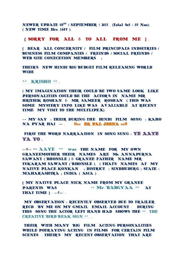 Newer Latest Updates New Hindi Film Some Very Class Info S